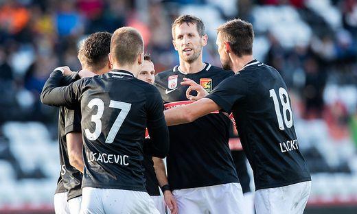 FUSSBALL TIPICO-BUNDESLIGA GRUNDDURCHGANG: FC FLYERALARM ADMIRA - WSG SWAROVSKI TIROL