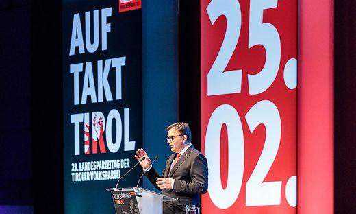 Tiroler ÖVP-Landesparteiobmann LH Günther Platter