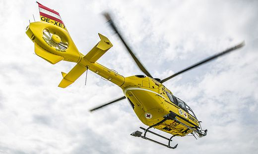 Hubschraubereinsatz am Dachstein