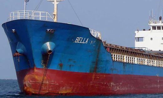 """Die Beschlagnahmung der vier Tankschiffe """"Bella"""", """"Bering"""", """"Pandi"""" und """"Luna"""" wurde laut dem Ministerium bereits im Juli angeordnet"""