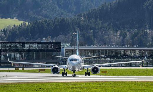 Nichts geht mehr am Flughafen Innsbruck