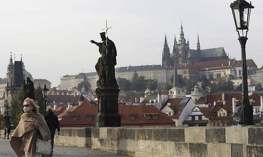 Ab Donnerstagfrüh gelten in Tschechien Ausgangsbeschränkungen wie im Frühjahr