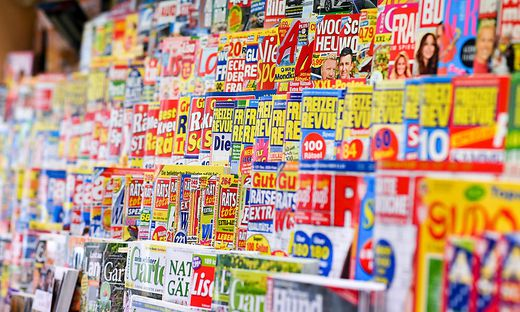 Symbolbild - Zeitschriften