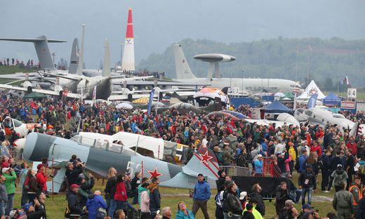 80.000 Besucher lockte die Airpower am Freitag nach Zeltweg