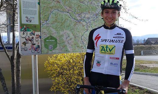 Der 17-jährige Enzo Komatz macht sich Mitte Juli auf eine Radreise der Superlative