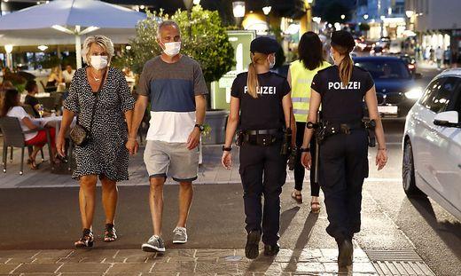 2020 wurden in Velden noch gewöhnliche Schutzmasken verordnet, nun sollen FFP2-Masken Pflicht werden