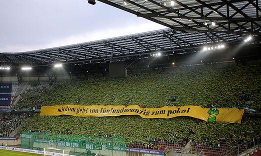 Auch das Cup-Finale 2017 war ein Heimspiel für Rapid Wien