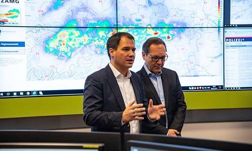 Michael Schickhofer hat einen Blackout-Plan für die steirischen Gemeinden in Auftrag gegeben.