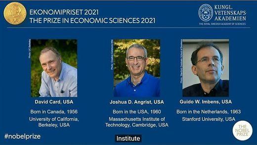 Die Wirtschafts-Nobelpreisträger 2021