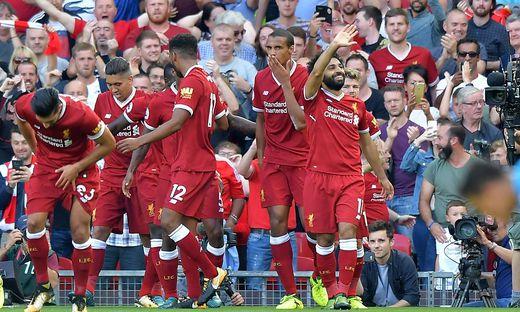 Liverpool Tabellenplatz