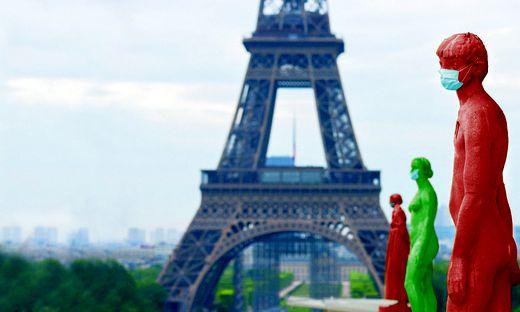 Frankreich erwacht aus dem künstlichen Tiefschlaf und leuchtet auf den Seuchenplänen jetzt in Rot und in Grün