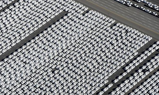 AFP PICTURES OF THE YEAR 2015-GERMANY-US-AUTOMOBILE-VOLKSWAGEN