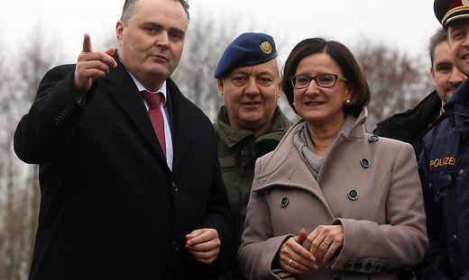 Hans Peter Doskozil, Johanna Mikl-Leitner