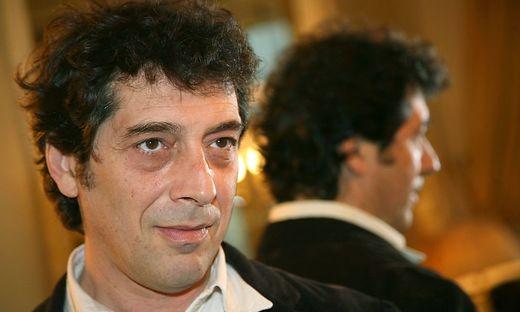 Der italienische Schriftsteller Sandro Veronesi