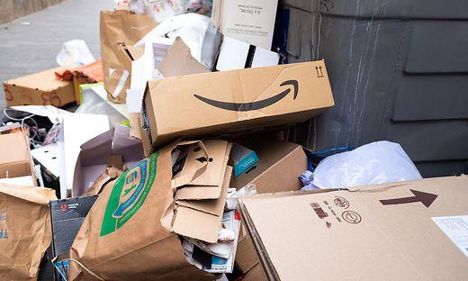 Online-Bestellungen verursachen viel Verpackungsmüll, der oft nicht sorgsam genug getrennt wird
