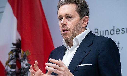 Wirtschaftskammer-Präsident Harald Mahrer