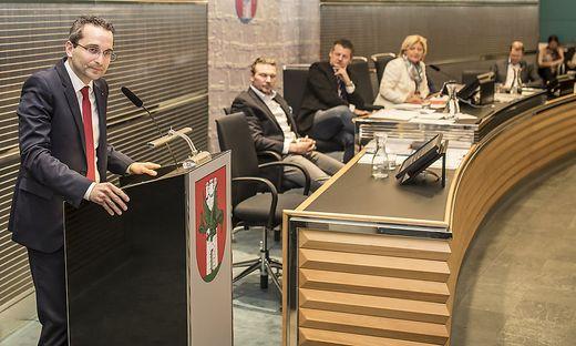 Petritz wurde im Jänner als Stadtrat angelobt