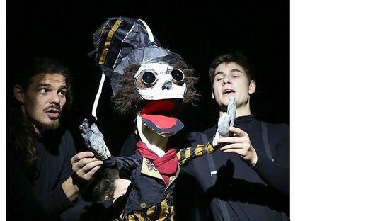Artistisches Puppentheater-Varieté für Groß und Klein am 3.10.2021 um 16.30 Uhr in der Musikschule Eisenerz.