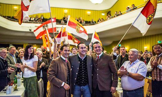 Landesparteitag im Vorjahr: Ragger trat von der FPÖ-Spitze ab