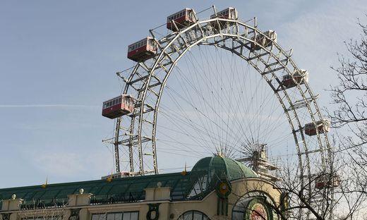 1897 errichtet: das Wiener Riesenrad