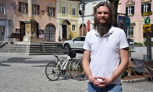 Serie Ortskerne Innenstadt Hartberg, Markus Gaugl, Bauausschussobmann und Finanzstadtrat Hartberg
