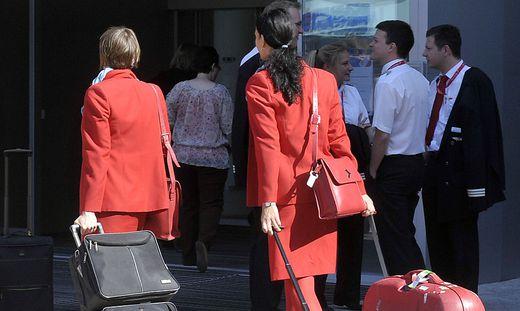 Auf die Austrian Airlines kommen turbulente Zeiten zu