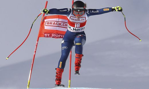 Ski, Weltcup, St. Moritz, Sofia Goggia