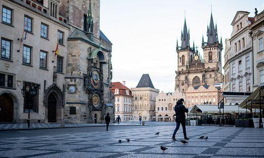 Prag in der Pandemie