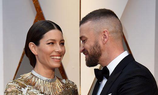 Das Ehepaar Jessica Biel und Justin Timberlake