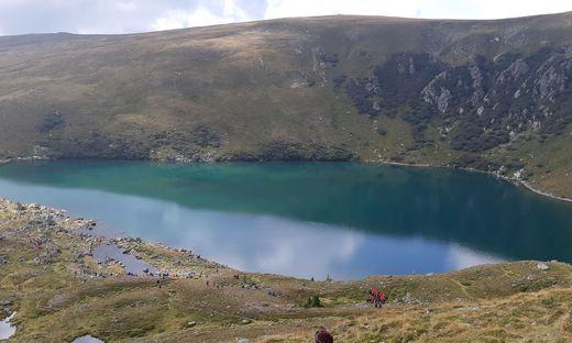 Der Wildsee im Zirbitzkogelgebiet war jahrzehntelang Austragungsort für eine Messe