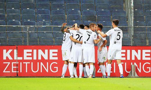 SOCCER - 2. Liga, GAK vs A.Klagenfurt