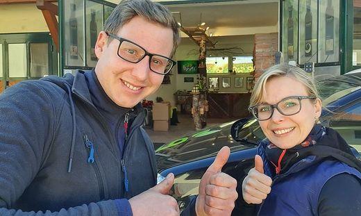 Robert Erschen Junior und Magdalena Erschen