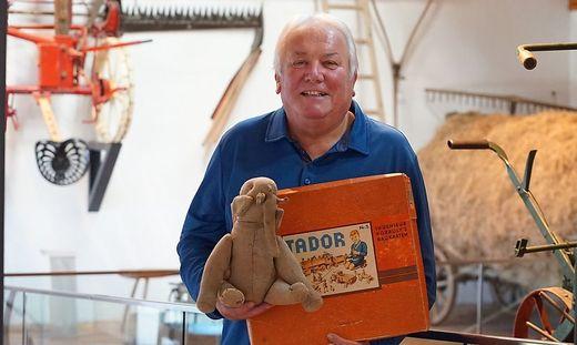 Herbert Graf ist leidenschaftlicher Sammler und zeigt nun seine alten Spielzeuge