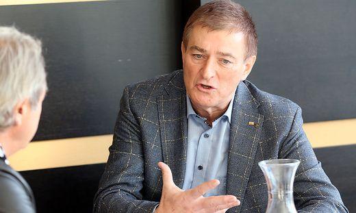 Kärntens Arbeiterkammerpräsident Günther Goach