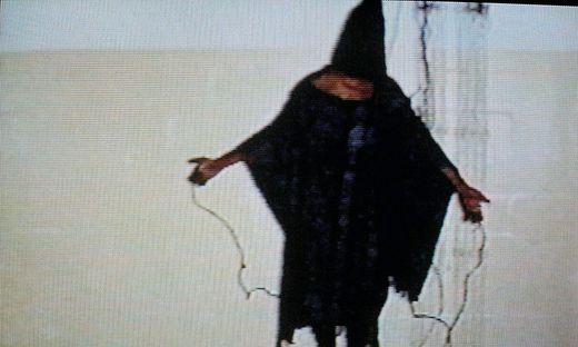 Folterbilder aus dem von den USA geführten Gefängnis Abu-Ghuraib