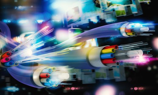 Schnelles Internet via Glasfaser-Technologie ist heute heiß begehrt