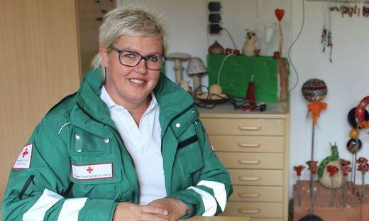 Jennifer Lackner aus St. Veit ist seit 2015 in der Krisenintervention des Roten Kreuzes tätig
