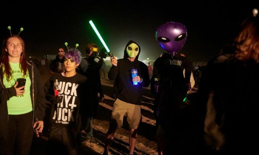 US-FESTIVAL-LIFESTYLE-LEISURE-ALIENSTOCK-AREA 51