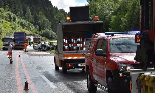 Tödlicher Unfall Montagnachmittag auf der S6