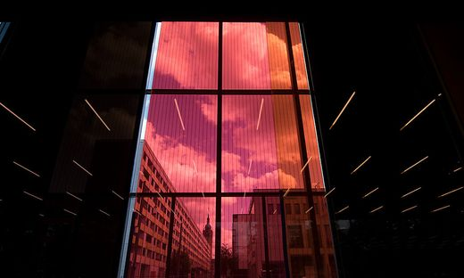 Bauhaus Museum Dessau vor Eroeffnung