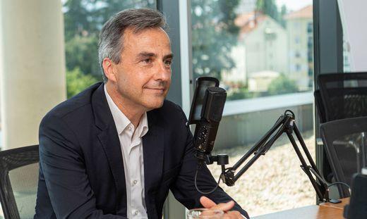 Bürgermeister Nagl im Podcast-Studio