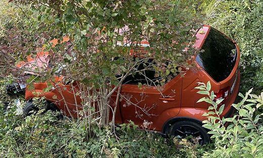 Der zweite Unfall auf der B 320 am Sonntag