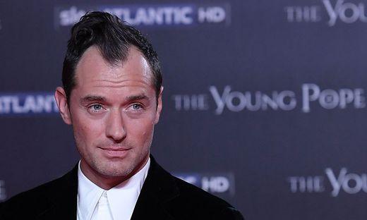 Der Schauspieler Jude Law