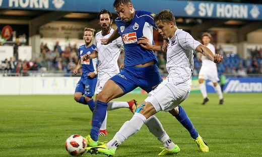 SOCCER - 2. Liga, Horn vs A.Klagenfurt