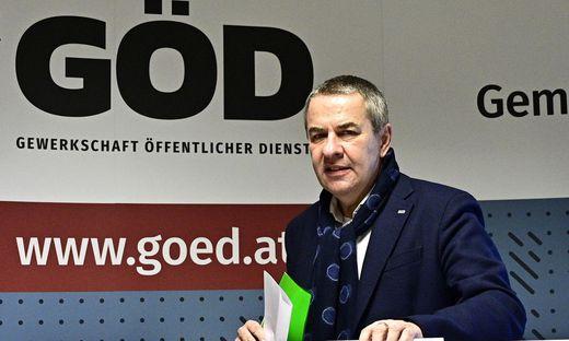 Siegreich bei den Bundespersonalvertretungswahlen: Norbert Schnedl (FCG)