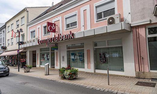 Die Commerzialbank in Mattersburg