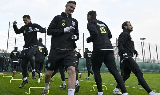 FUSSBALL: WM-QUALIFIKATION: TRAINING OeSTERREICH