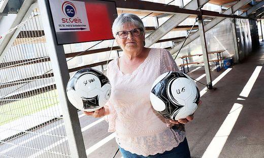 Edith Kreuter ist mit dem Fußball groß geworden