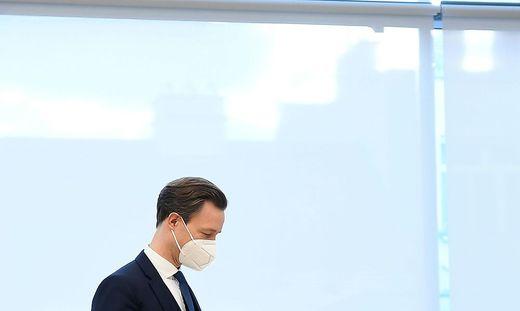 Finanzminister Gernot Blümel