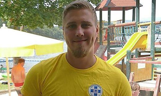 """Stefan Petrasko """"brennt"""" für das Element Wasser und die Wasserrettung"""